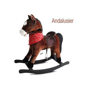 WHITE LABEL - cheval à bascule jouet enfant bébé - Caballo De Balancín