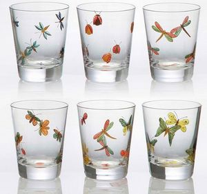 Artel - bug painted - Vaso