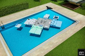Colchoneta de piscina