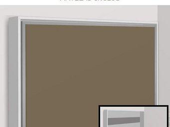 WHITE LABEL - armoire lit escamotable athena, bicolore blanche e - Armario Cama