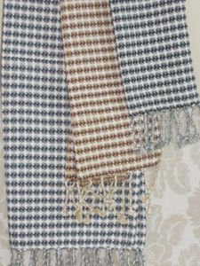 ITI  - Indian Textile Innovation - waffle check - Colcha