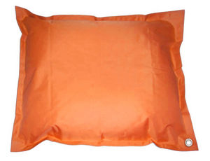 Cotton Wood - pouf de piscine flottant xl orange - Cojín De Suelo