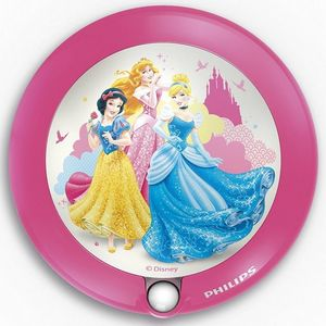 Philips - veilleuse princess détecteur led d9,5 cm - Aplique Para Niños