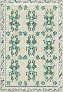 Diurne - azulejos - Alfombra Contemporánea