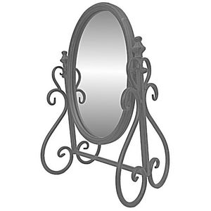 CHEMIN DE CAMPAGNE - miroir psyché inclinable à poser de coiffeuse en f - Espejo