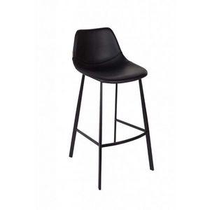 Mathi Design - chaise de bar noir - Silla Alta