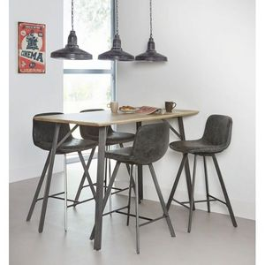 Mathi Design - table haute kitchen - Mesa Para Comer De Pie