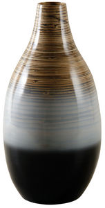 Aubry-Gaspard - vase bambou laqué - Búcaro