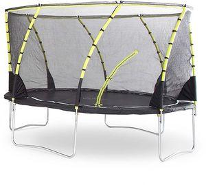 Plum - trampoline avec filet innovant 3g whirlwind 366 cm - Cama Elástica