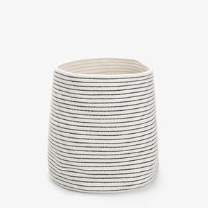 Zara Home - corbeille en coton - Papelera De Cuarto De Baño