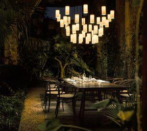 ANTONI AROLA - cirio chandelier - Lámpara Colgante