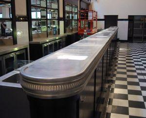 Zinc Counters -  - Barra De Bar