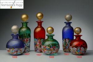 Gambaro & Poggi Murano Glass -  - Frasco De Perfume