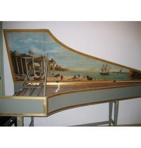 Cailloubaton.com - clavecin d'après dulcken - Clavicordio