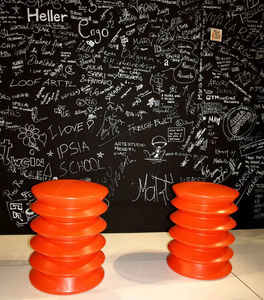 Heller - salone del mobile milano 2009 - Taburete