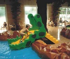 Futura Play - toboggan crocodile - Juego Acuático