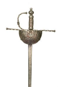 Peter Finer - rapière de 1680 - Espada