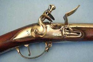 Pierre Rolly Armes Anciennes - fusil règlementaire etranger du 18° siècle - Carabina Y Fusil