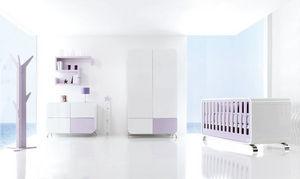 ALONDRA - kurve violet - Habitaci�n Beb� 0 3 A�os