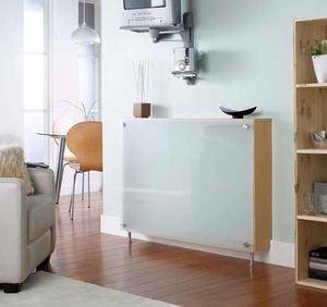 Winther Browne & Co - soho real beech veneer radiator cabinet with tough - Cubre Radiador
