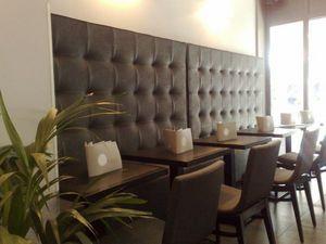 SKa France - banquette lounge - Banco De Restaurante