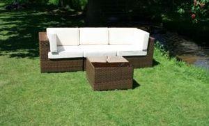 Half Price Teak - 4 piece modular sofa set - Sofá Para Jardín