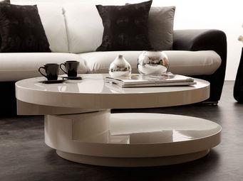 Miliboo - glossy table basse - Mesa De Centro Redonda