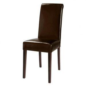 MAISONS DU MONDE - chaise marron boston - Silla