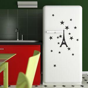 PARISTIC - sticker tour du monde - Adhesivo