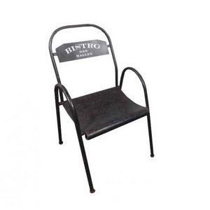 Mathi Design - chaise bistro des halles - Silla