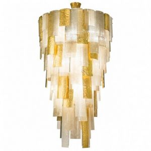 ALAN MIZRAHI LIGHTING - dv2215 cascading - Colgante