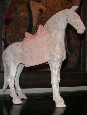 Baikal - Escultura de animal-Baikal-Cheval Tang en posture libre