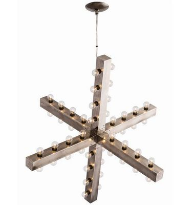 ALAN MIZRAHI LIGHTING - Araña-ALAN MIZRAHI LIGHTING-Industrielle-Chic Arteriors