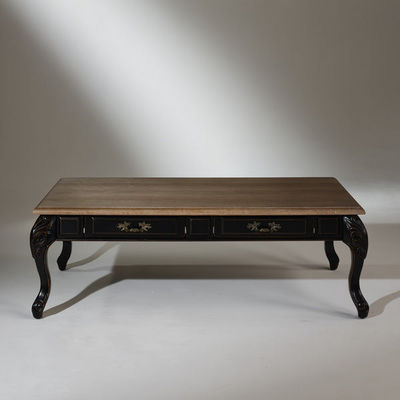 Robin des bois - Mesa de centro rectangular-Robin des bois-Table basse, chêne, MARIANNE