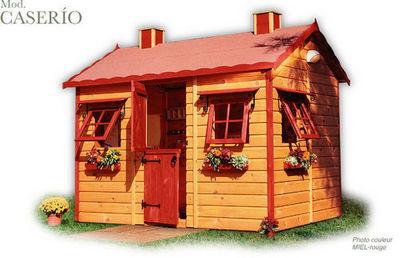 CABANES GREEN HOUSE - Casa de jardín niño-CABANES GREEN HOUSE-CASERIO