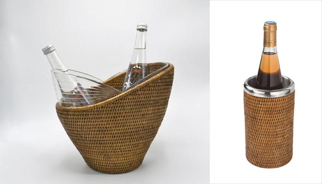 ROTIN ET OSIER Secchiello termico per bottiglia Raffreddare le bevande Accessori Tavola  |