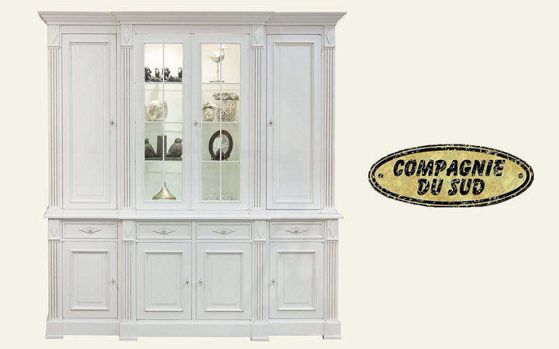 Compagnie Du Sud Credenza con piattaia Credenze, buffet e mobili soggiorno Armadi, Cassettoni e Librerie  |