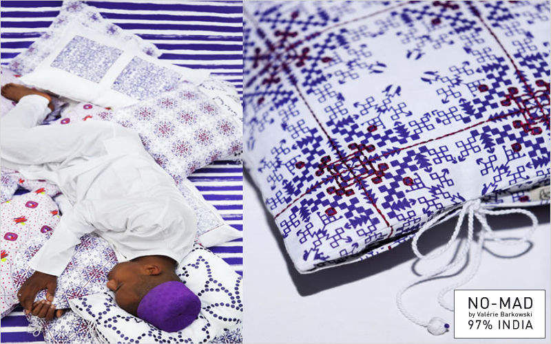 NO-MAD 97% INDIA Fodera per cuscino Cuscini Guanciali Federe Biancheria  |