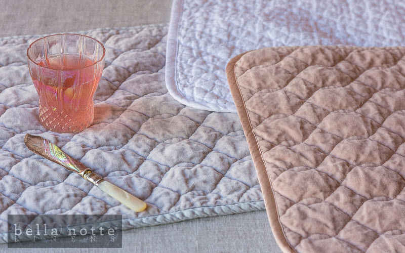 Bella Notte® Linens Tovaglietta all'americana Set da tavola Biancheria da Tavola  |