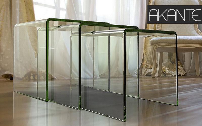 AKANTE Tavolini sovrapponibili Tavolo d'appoggio Tavoli e Mobili Vari  |