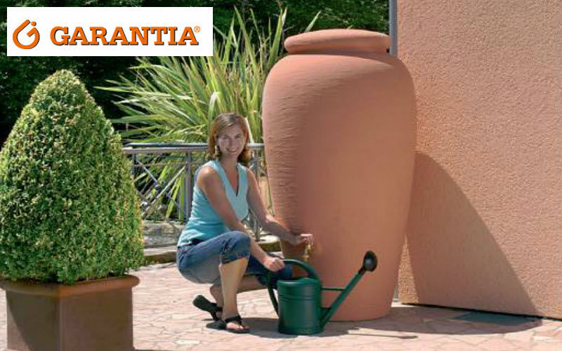 GARANTIA Giara per la raccolta di acqua piovana Varie Vasi e Vaschette Giardino Vasi  |