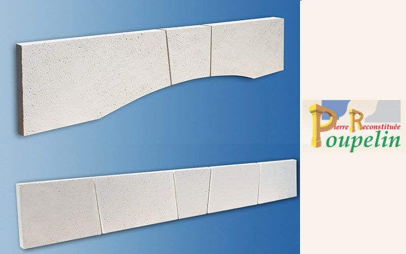 POUPELIN PIERRE RECONSTITUEE Architrave Pareti esterne e facciate Pareti & Soffitti  |