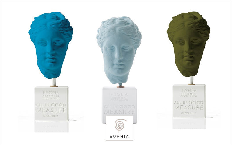 SOPHIA Scultura testa umana Statue Arte  |