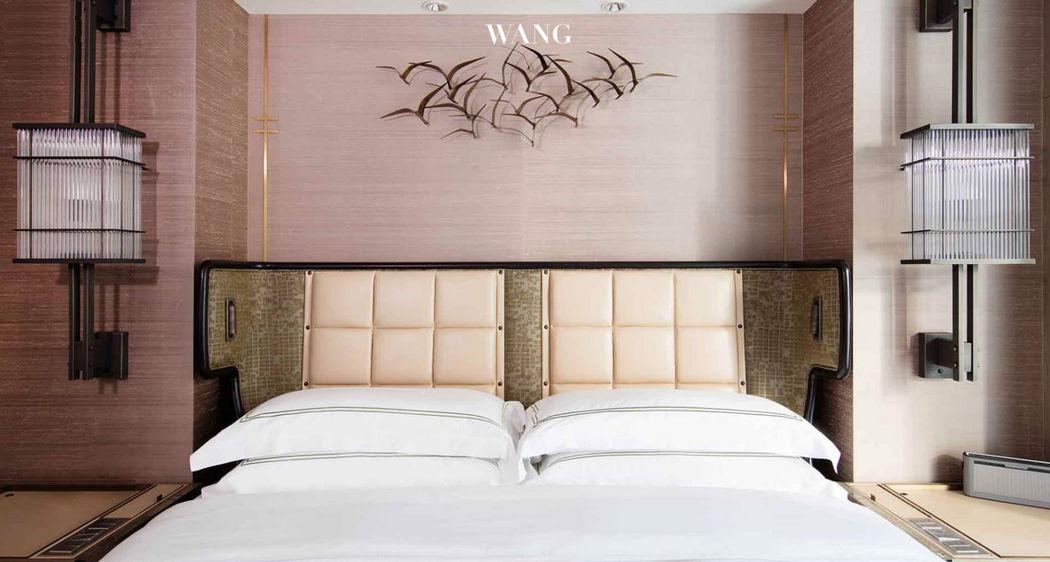 Joyce Wang Studio Progetto architettonico per interni - Camere da letto Varie arredo camera da letto Letti  |