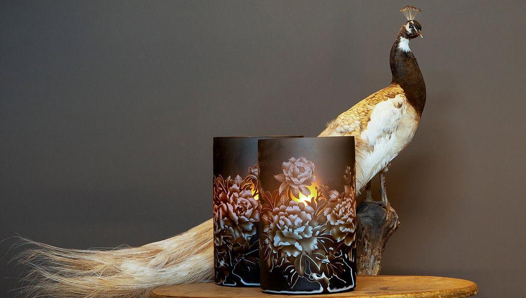 o4Home Bicchiere portacandela Candele e candelabri Oggetti decorativi  |