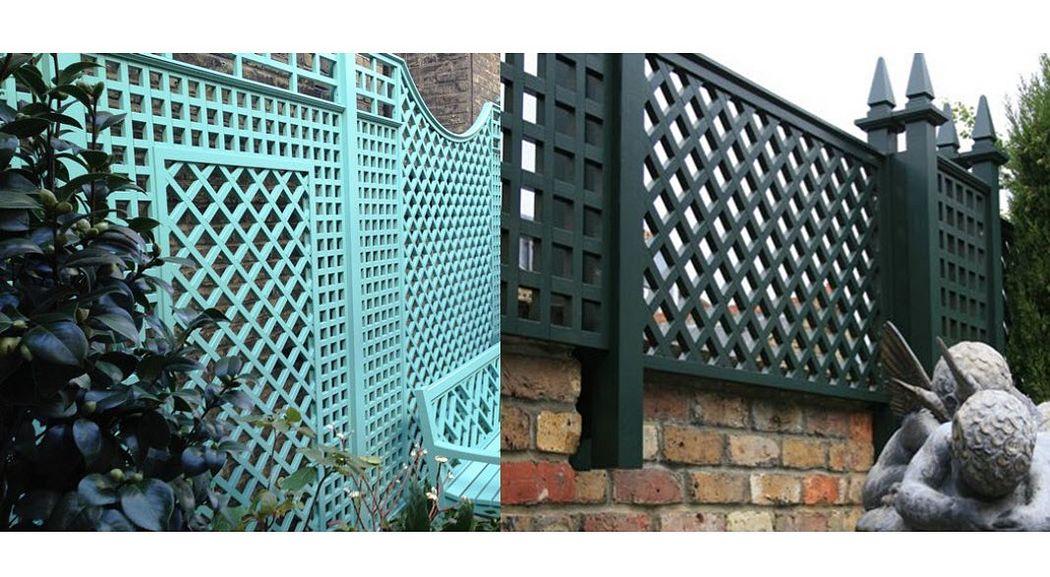Stuart Garden Architecture Grigliato decorativo Grigliati e grate Giardino Tettoie Cancelli...  |