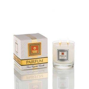PAIRFUM - London - snow crystal candle - large - blush rose & amber - Candela Profumata