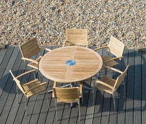 Tavolo da giardino rotondo