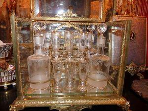 Art & Antiques - cave à liqueur en bronze xixe - Cofanetto Per Liquori
