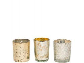 BLANC D'IVOIRE - rita - Bicchiere Portacandela